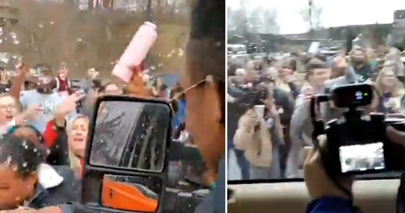 SHOCK Video: College Students Attack Kaitlin Bennett's Car Just For Visiting Campus