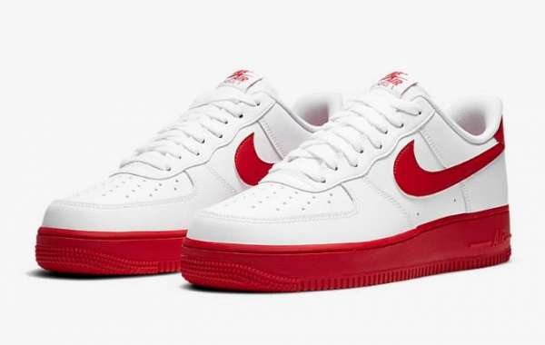 Latest Nike Air Force 1 Low University Red On Sale
