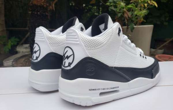 Fragment x Air Jordan 3 In White/Black DA3595-100