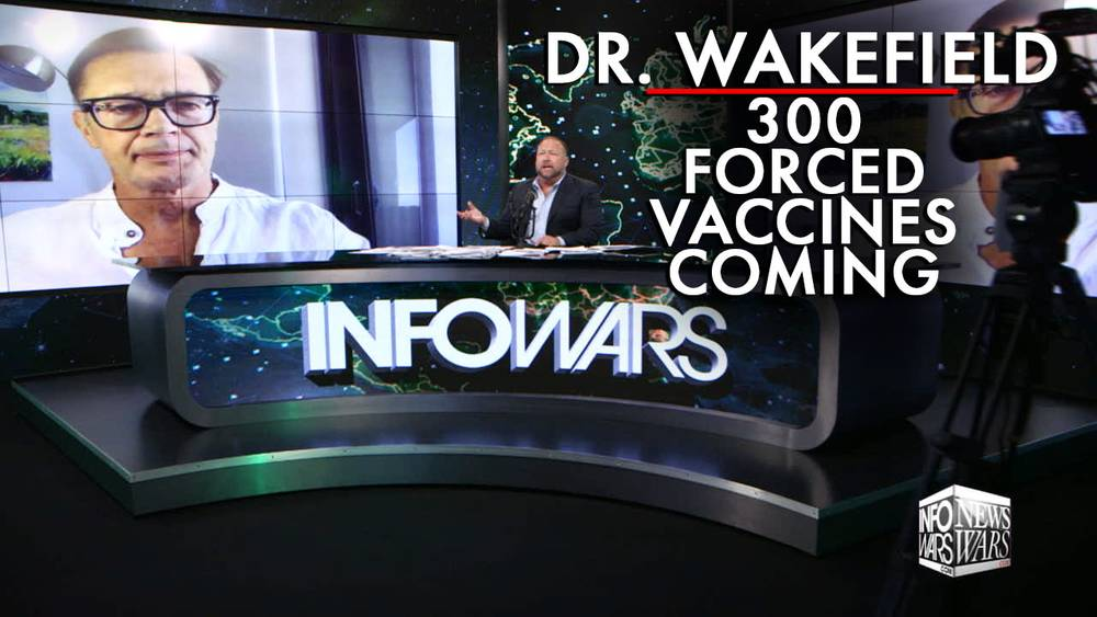 Dr. Wakefield Warns 300 Forced Vaccines Comin