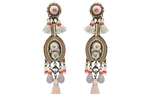Handmade Statement Dangling Earrings