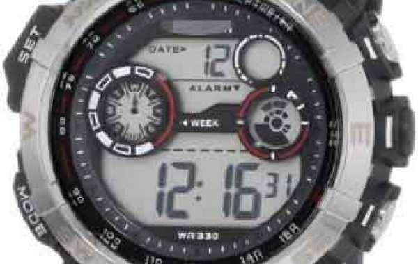 Trendy Custom Red Watch Dial