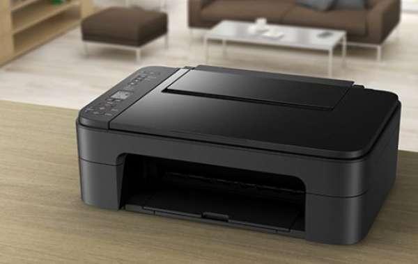 Canon injket Printer Series Setup Process