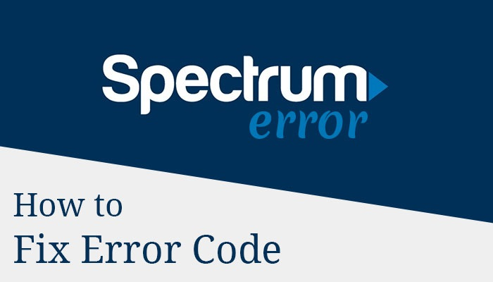 What is Spectrum Error Code and how do I fix it - Contact Email