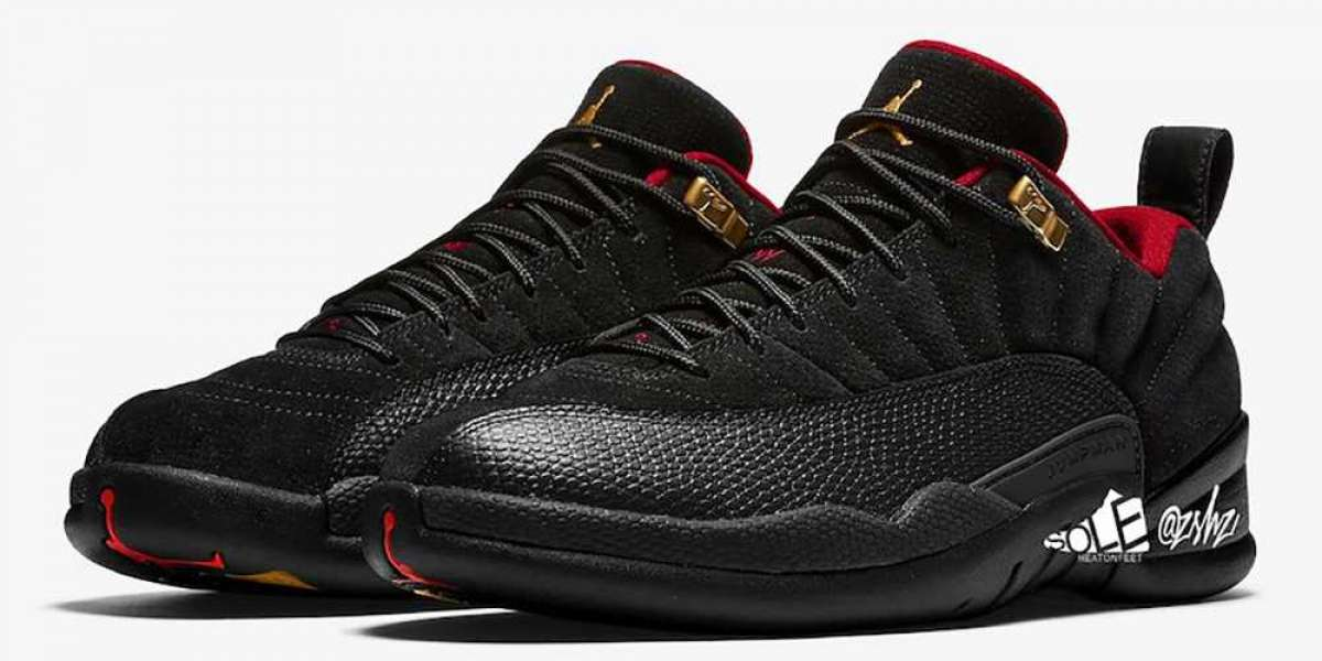 "Air Jordan 12 Low SE ""Super Bowl"" DC1059-001 Will Be Officially Released On February 6th"