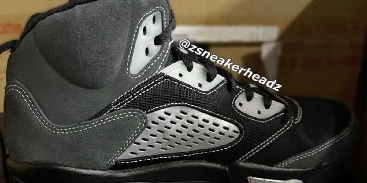 "The New Air Jordan 5 ""Anthracite"" DB0731-001 Physical Exposure!"
