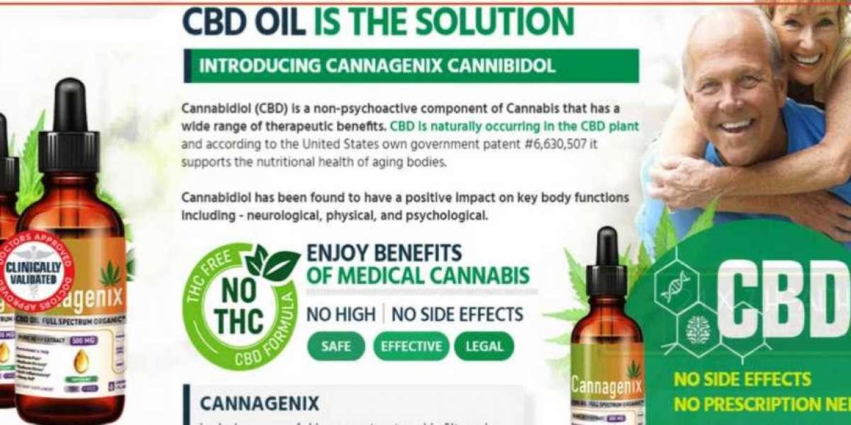 Cannagenix CBD Oil Relieves Chronic Pin!