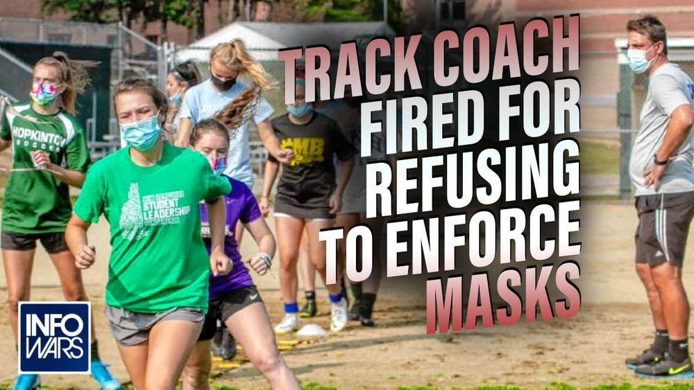 Coach Who Refused to Enforce Masks on Student Athletes Speaks Out