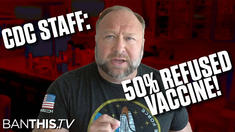 Breaking : Half Of NIH/CDC Refuse The COVID Vaccine Right As The World Awakens