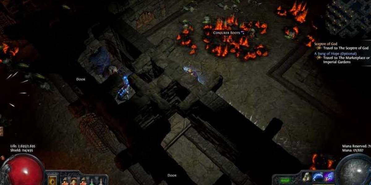 How to play Path of Exile The Witch Summoner Build?