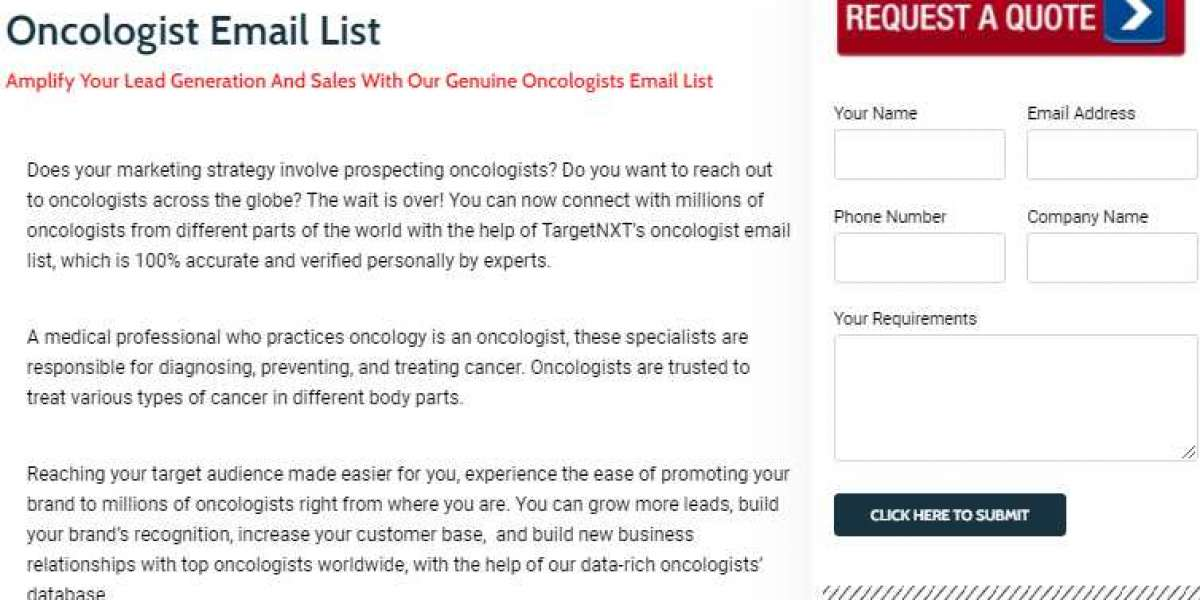 Oncologist Email List