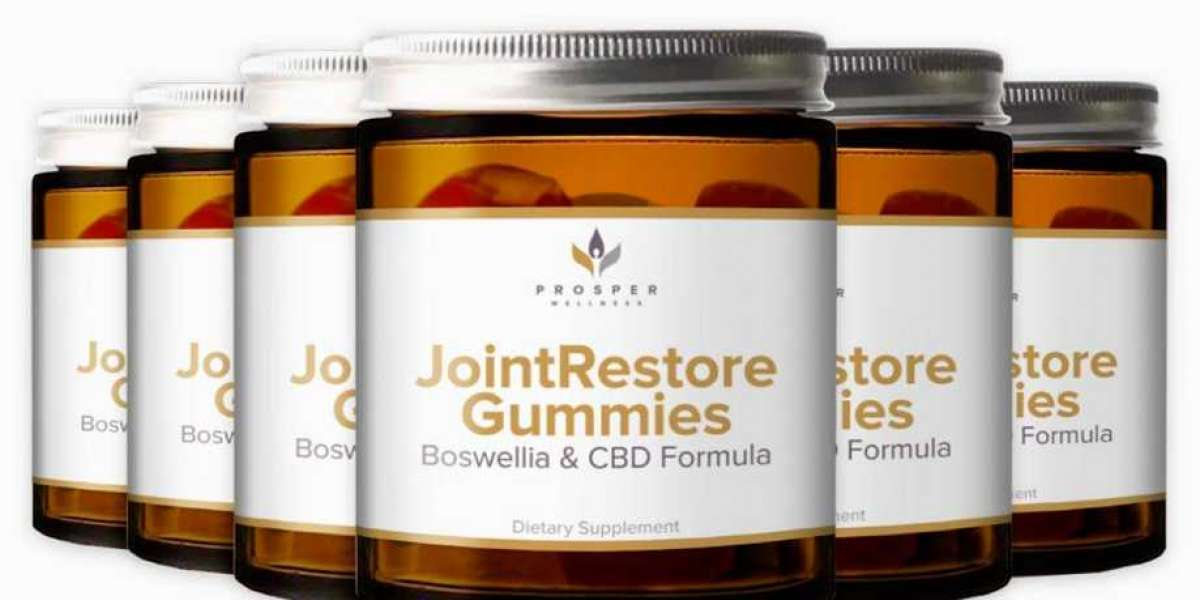Joint Restore Gummies Reviews - Prosper Wellness Boswellia & CBD Formula! Buy