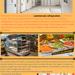 Maxichill provides for all your Commercial Refrigeration needs | Visual.ly