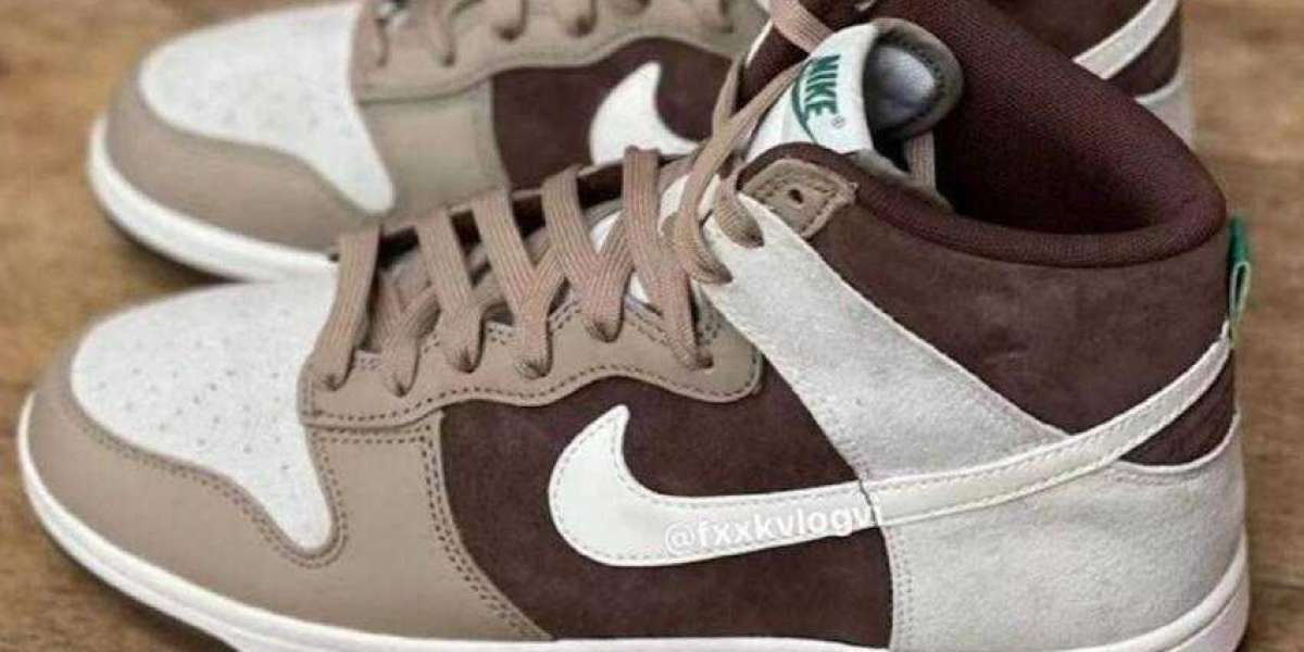 Hot Nike Dunk High Light Chocolate Set to Arrive on August 2021