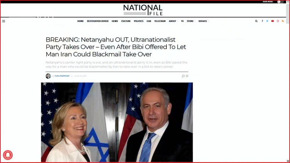 Netanyahu Is OUT! And Americans Have To Care, For Some Reason