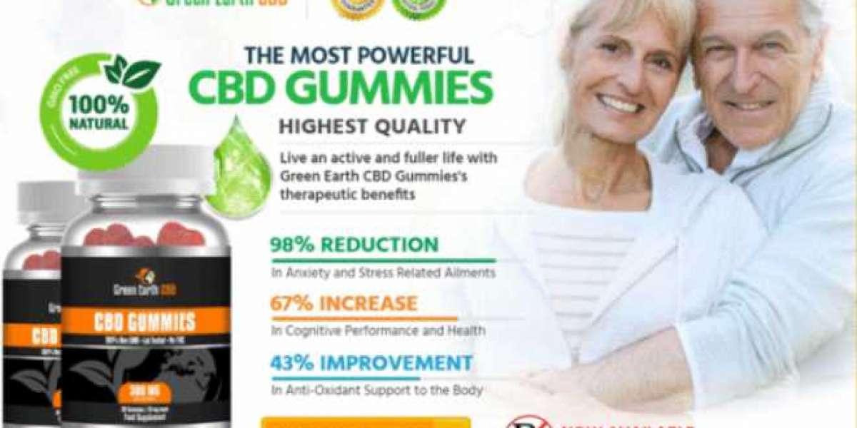 How To Get Green Earth CBD Gummies - Tophealth24x7.Com