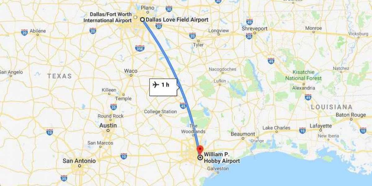 How Far is Dallas from Houston by Road and Air