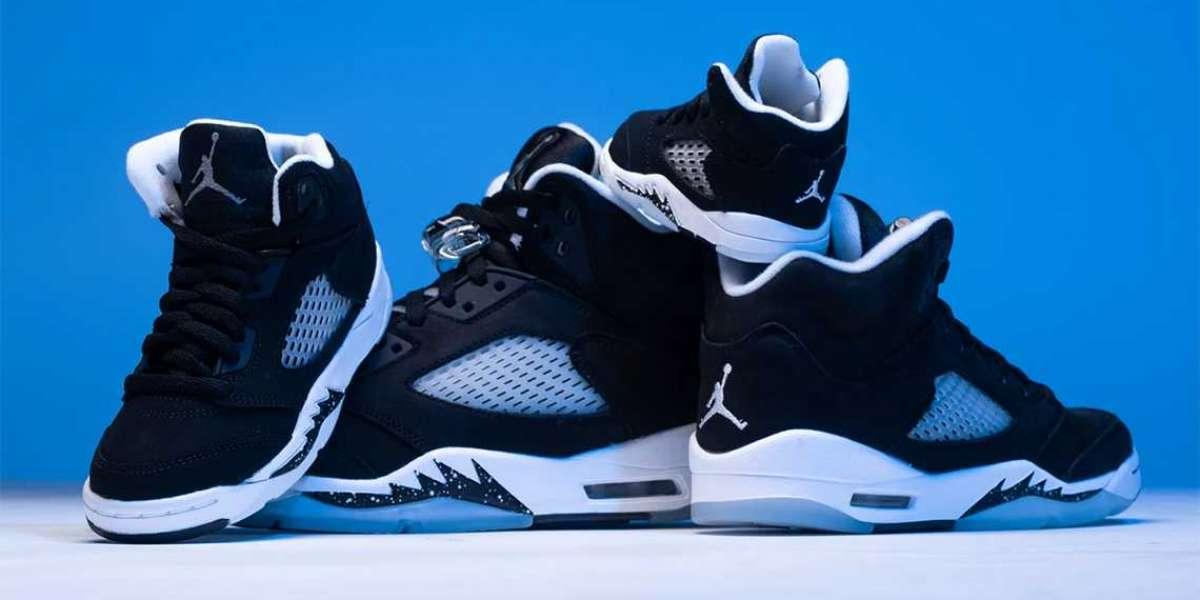 "CT4838-011 Air Jordan 5 ""Oreo/Moonlight"" release date postponed to September 25"